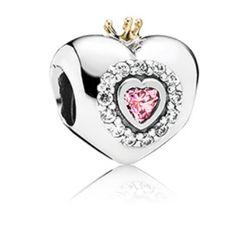 Cœur de princesse, cz rose poudré N° 791375PCZ $100.00 CAD