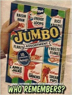 Notice that back in the day, they were called Sugar Smacks & Sugar pops . Not Honey Smacks & Corn pops! My Childhood Memories, Great Memories, School Memories, 1970s Childhood, Vacation Memories, Nostalgia, I Remember When, Oldies But Goodies, Good Ole