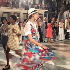 The Grand Finale from Chanel in Cuba! | #YYView #Chanel #Cuba #spectacular #colorful