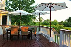 Need a different spot for your deck umbrella so there's shade when Backyard Umbrella Ideas on glass backyard ideas, umbrella house, beautiful backyard ideas, football backyard ideas, dog backyard ideas, umbrella outdoor kitchen, butterfly backyard ideas, flower backyard ideas, golf backyard ideas, umbrella summer, home backyard ideas, garden backyard ideas, umbrella flowers, summer backyard ideas, beach backyard ideas, condo backyard ideas, crazy backyard ideas, fancy backyard ideas,