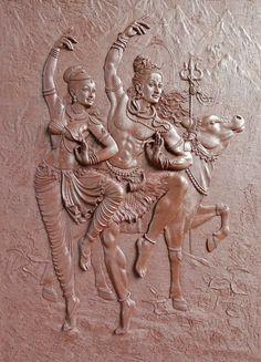 467 Me gusta, 4 comentarios - Ram bhakt official page Shiva Art, Krishna Art, Hindu Art, Mahakal Shiva, Clay Wall Art, Mural Wall Art, Mural Painting, Sculpture Art, Sculptures