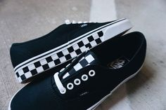 Checkerboard print on Vans is just as iconic as Black/Red colorways on Jordans.  I know, that's a bold statement, but it's a fact! It's something so fresh about checker print on Vans models that make you want to cop and rock immediately.  And when it comes to Black/White checkerboard colorways on the Old Skool, Sk8 Hi, Era or Authentic - forget about it. The shoes literally sell themselves.  Vans just released a new checkerboard Vans Authentic, and I know many people ...