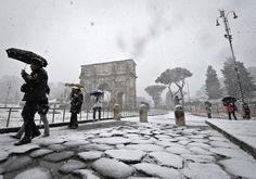 ¿Es lo mismo Roma bajo la nieve?