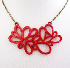 Red Fashion Trends by Danae - The Classy Jewelry Box on Etsy
