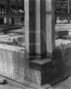 Mies van der Rohe; construction detail of Alumni Memorial Hall at Illinois Institute of Technology, Chicago, 1944-45