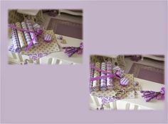 Wyrnas lavender KIT LAVENDER  PARFUME SHOP.  1 / 12th SCALE DOLLS HOUSE MINIATURES. DOLLHOUSE Wyrna Christensen design.