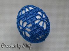 This is a free crochet pattern for Easter Egg Pouch. You may get the free pattern here.