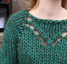 c0b3449d Pickles - Springtime Sweater - Knitting patterns and yarn kits Knitting Kits,  Sweater Knitting Patterns