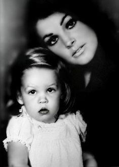 Lisa Marie & Pricilla Presley