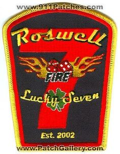 Roswell Fire and Rescue Department Company 7 Station EMS Lucky Patch Georgia GA