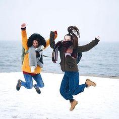 "You say ""singing in the rain"". We say ""dancing in the snow"" ❤ Singing In The Rain, Thessaloniki, Winter Day, Dancing, Winter Jackets, Snow, Sayings, Travel, Instagram"