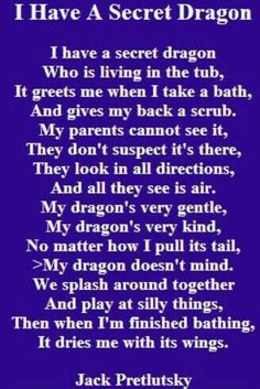 I have a secret dragon 🐉 Dragon Poems, Dragon Quotes, Dragon Heart, Baby Dragon, Butterfly Dragon, Dragon Dreaming, Avatar Picture, Poetry For Kids, I Have A Secret
