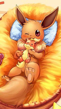Will you pick pikachu or eevee? Pokemon Backgrounds, Cool Pokemon Wallpapers, Cute Cartoon Wallpapers, Gladio Pokemon, Pokemon Eevee Evolutions, Eevee Wallpaper, Cute Pokemon Wallpaper, Cute Kawaii Drawings, Cute Animal Drawings