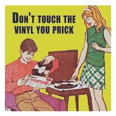 Yeah? Well, your turntable sucks!