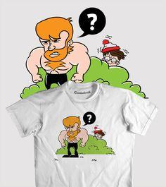 Ilustração para estampa de camisa http://www.camiseteria.com/design.aspx?did=64566