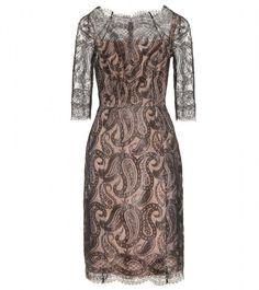 Erdem Lace Dress in Black