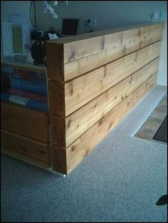 Rustic Reception Desk