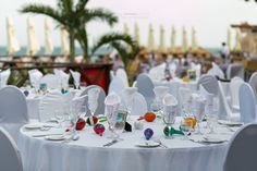 Colorful maracas are great for decor and your guests can take them home #NowSapphireRivieraCancun #Mexico #DestinationWedding