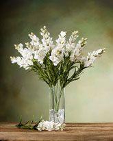 Silk Snapdragon Flower Stems   Single Fake Floral Stems Online