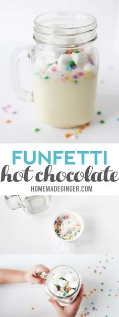 Hot Chocolate In A Jar, Hot Chocolate Gifts, Chocolate Bomb, Homemade Hot Chocolate, Hot Chocolate Recipes, Chocolate Desserts, Vegan Chocolate, Chocolate Cookies, Hot Cocoa Recipe