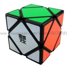 새로운 브랜드 MoYu MoYu Skewb 속도 매직 큐브 광장 입방정 MagicO 퍼즐 학습 및 교육 장난감 좋은 선물