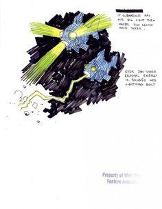 Mike Mignola concept art for 'Atlantis: The Lost Empire'