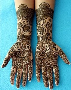Rock your hands with these Latest Mehndi Designs | Images, Photos!