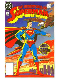 DC Comics - The Adventures of Superman, No.424, Jan. 1987.