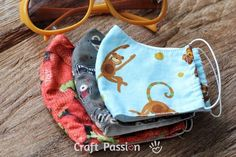 Diy Face Mask Sewing Discover Face Mask Pattern - Free Sewing Pattern Craft Passion Free face mask sewing pattern & tutorial & video on how to sew homemade face mask with pocket for filter & nose wire. 4 sizes age 3 & up kids to adults. Face Masks For Kids, Easy Face Masks, Homemade Face Masks, Diy Face Mask, Lemon Face Mask, Lemon On Face, Honey Face Mask, Sewing Patterns Free, Free Sewing