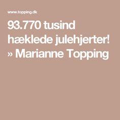 93.770 tusind hæklede julehjerter! » Marianne Topping