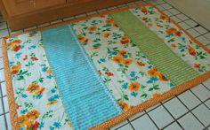 pretty homemade bath mats