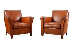 Club Chairs, Pair on OneKingsLane.com  $3500