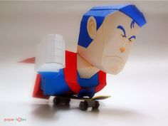 Blog_Paper_Toy_Suppaman_Flying_On_Skateboard_paper_hOles_pic3