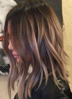 Medium Length Hairstyles 2018 with Balayage Hair Color Ideas