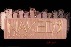 #urban #decay #cheap $20 Urban Decay Naked 3 Eyeshadow Palette