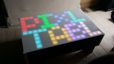 Picture of RGB LED Pixel Touch Reactive Gaming Table
