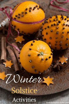Winter Solstice Activities & Books ~ Nourishing My Scholar <br> Many cultures around the world celebrate the winter solstice by holding festivals, holidays, and winter solstice activities. Noel Christmas, Winter Christmas, Winter Holidays, Christmas Crafts, Pagan Holidays 2017, Christmas Quotes, Christmas Ideas, Yule Traditions, Winter Solstice Traditions
