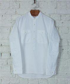 Albam - Collarless Overhead Shirt