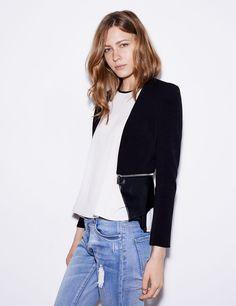 Veste zippée noire - Jennyfer e-shop