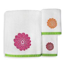 Stella Pink Bath Towels - Bed Bath & Beyond