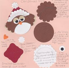Christmas Punch Art | My Insane Life by Sarah : Punch Art - Christmas 2
