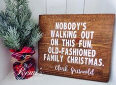 Merry Christmas Quotes : Illustration Description Christmas vacation wood sign, Christmas vacation home decor, Clark Griswold christmas quote, Christmas Christmas Signs Wood, Noel Christmas, Merry Little Christmas, Christmas Quotes, Winter Christmas, Christmas Vacation Quotes, Christmas Movies, Christmas Music, Homemade Christmas