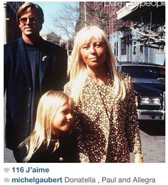 Donatella Versace, Allegra, Paul
