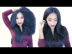 How to Do Natural-Looking Crochet Braids [Video] - Black Hair Information
