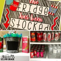 Step into 2nd Grade with Mrs. Lemons: Stock the Fridge for the Staff!