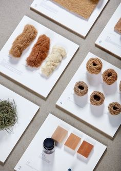 """Tamara Orjola est diplômée de la Design Academy d'Eindhoven. Elle a créé une collection très intéressante intitulée """"Forest Wool"""", comprenant tabourets et"""