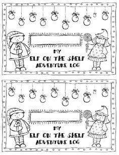 Elf on the Shelf Adventure Journal
