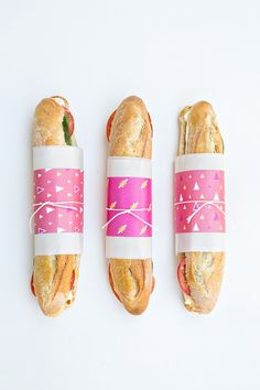 Free Printable Sandwich Wraps | Studio DIY®