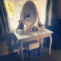 Instagram photo by @annasaccone (Anna Saccone)   Iconosquare Bedroom Vanity, Furniture, Sacconejoly House, House, Interior, Home, Vanity, Glam Room, Interior Design