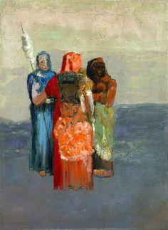 The Three Fates ~ Odilon Redon
